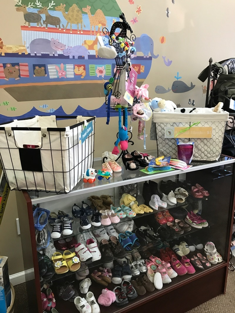 Pregnancy-Aid-Clinic-Baby-Boutique-Shoes
